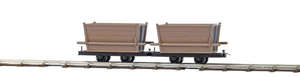 Busch 12201 2 Peat transport wagons