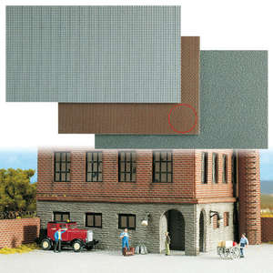 Busch 7402 Brick Stone Wall sheet