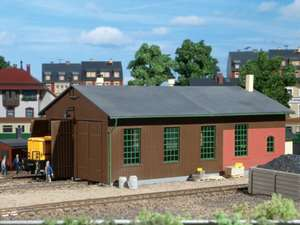 Auhagen 11332 Double track locomotive shed