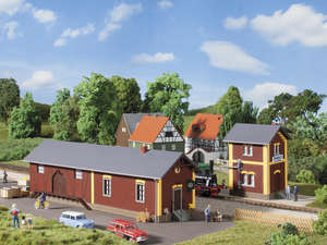 Auhagen kit 11409 NEW HO COUNTRY BLACKSMITH WITH INTERIOR DETAILS