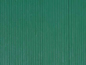 Auhagen 52219 2 Green Wooden Planks Decorative Plastic Sheets