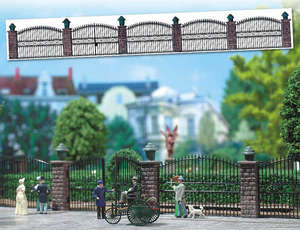 Busch 6016 Wrought iron fence