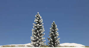 Busch 6152 2 Snow Covered Spruce