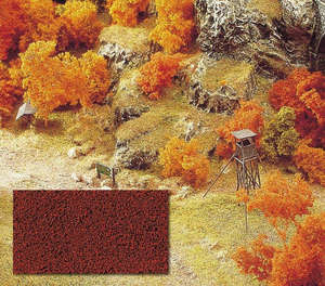 Busch 7326 Red / Brown Autumn Flock