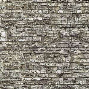 Vollmer 46035 Stone wall embossed card sheet