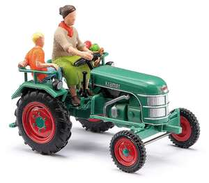 Busch 40071 Tractor Kramer KL11 with farmer and child