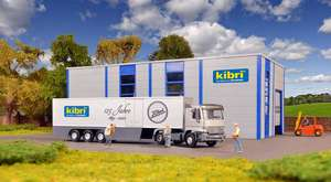 Kibri 12500 H0 MB Actros 2-axle with body