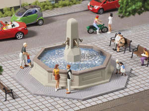 Auhagen 41629 Nonworking town fountain