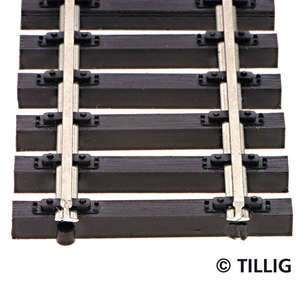 Tillig 83125 Wooden sleeper flexi track length