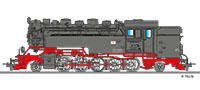 Tillig 02929 Steam locomotive DR