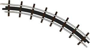 Busch 12323 2 Narrow gauge curved tracks