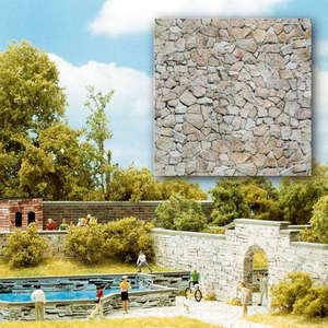 Busch 7422 2 Natural stone walling card sheets