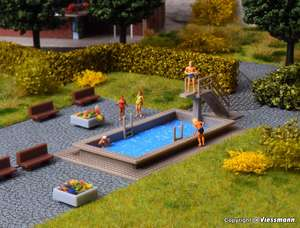 Vollmer 47668 Swimming Pool