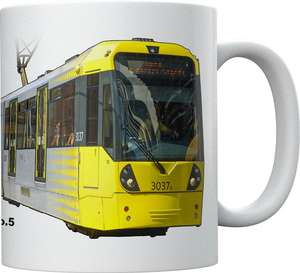 Light Rail Mug Collection - Manchester Metrolink M5000