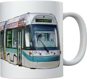 Light Rail Mug Collection - Nottingham Incentro AT6/5