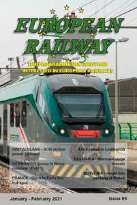 European Railway: Issue 95  January - February 2021