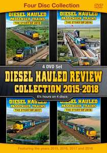 Diesel Hauled Review Collection 2015-2018