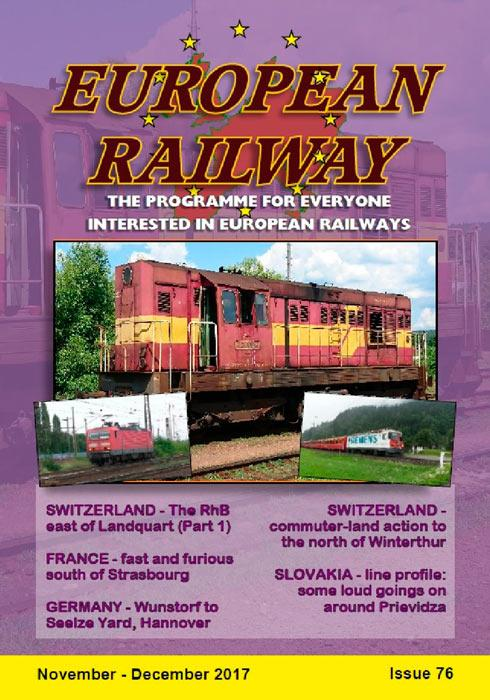 European Railway - Issue 76 - November - December 2017