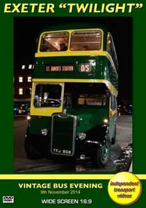 Exeter Twilight Vintage Bus Evening 2014