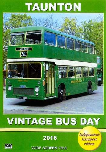 Taunton Vintage Bus Day 2016