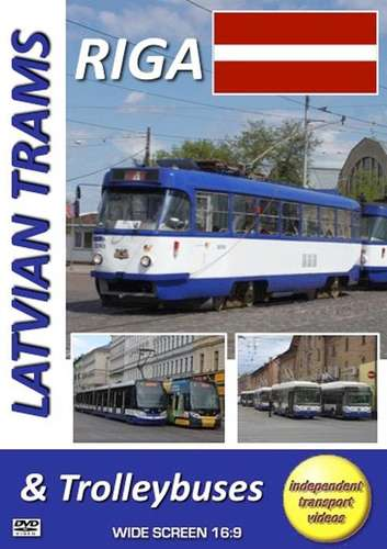 Latvian Trams and Trolleybuses - Riga