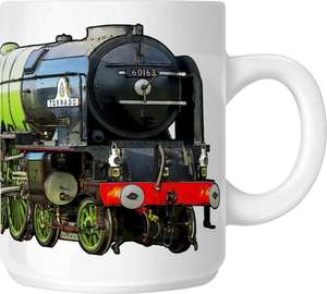 The Steam Mug Collection No12 - 60163 Tornado, Peppercorn A1 Pacific