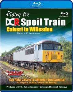 Riding the DCR Spoil Train - Calvert to Willesden - Blu-ray