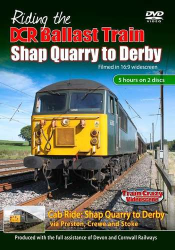 Riding the DCR Ballast Train - Shap Quarry to Derby