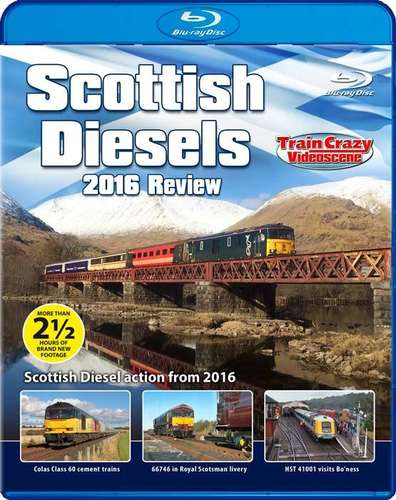 Scottish Diesels 2016 Review - Blu-ray