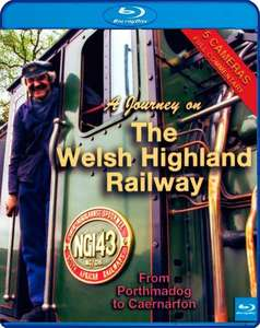 A Journey on the Welsh Highland Railway Blu-ray