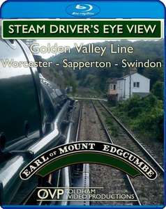 Steam Drivers Eye View - Golden Valley Line - Worcester - Cheltenham - Sapperton - Swindon - Blu-ray