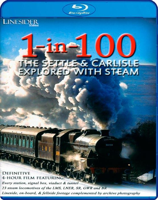 1-in-100 - The Settle and Carlisle Explored with Steam - Blu-ray