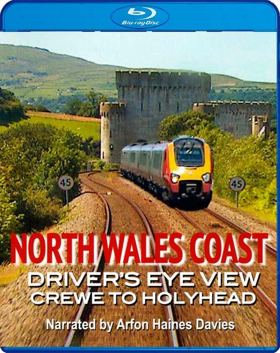 North Wales Coast - Crewe to Holyhead - Drivers Eye View - Blu-ray