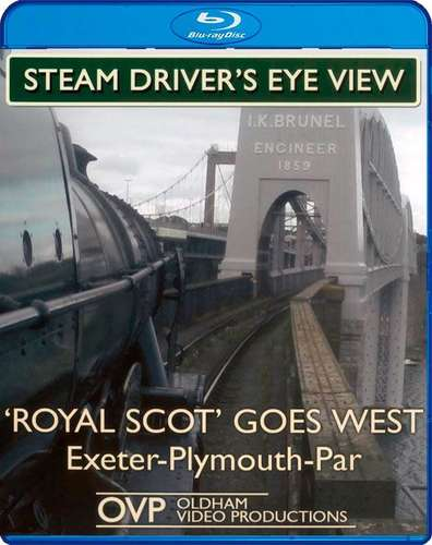 Steam Drivers Eye View - Royal Scot Goes West - Blu-ray