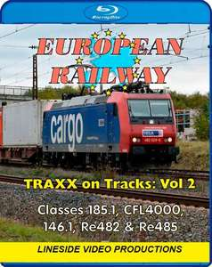 European Railway - TRAXX on Tracks - Volume 2 - Blu-ray