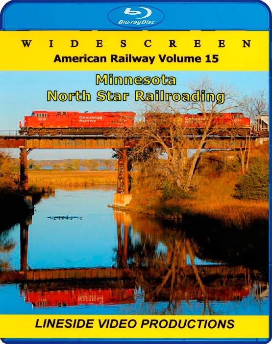 American Railway - Volume 15 - Minnesota - North Star Railroading - Blu-ray