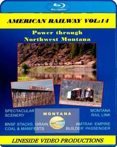 American Railway - Vol 14 Power through Northwest Montana - Blu-ray