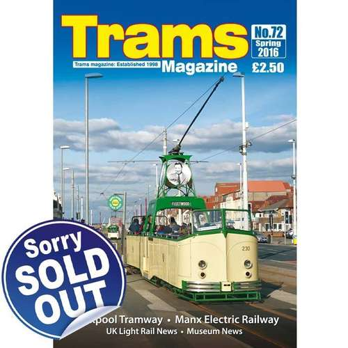 TRAMS Magazine 72 - Spring 2016