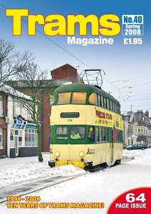 TRAMS Magazine 40 - Spring 2008