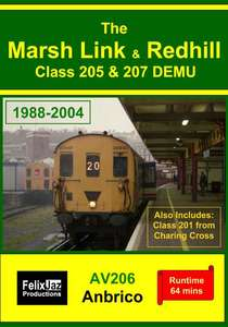 The Marsh Link and Redhill Class 205 and 207 DEMU