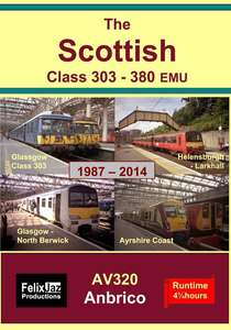 The Scottish Class 303 - 380 EMU 1987 - 2014 - 4 Disc Set