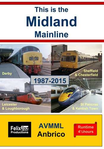 This is the Midland Mainline 1987 - 2015  4 Disc Set