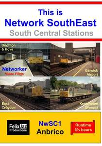 This is Network SouthEast South Central Stations 1992 - 2000 - 4 Disc Set