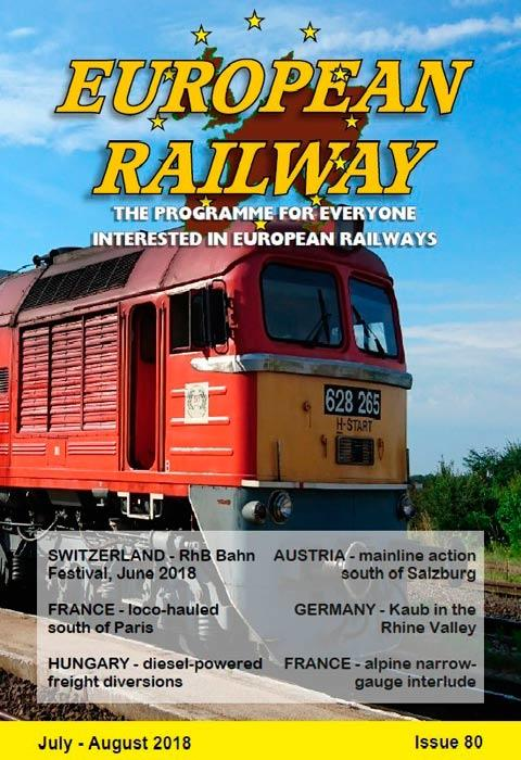 European Railway  Issue 80 - July - August 2018