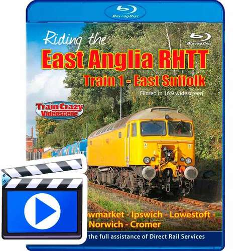 Riding the East Anglia RHTT Train 1 - East Suffolk (1080p HD)