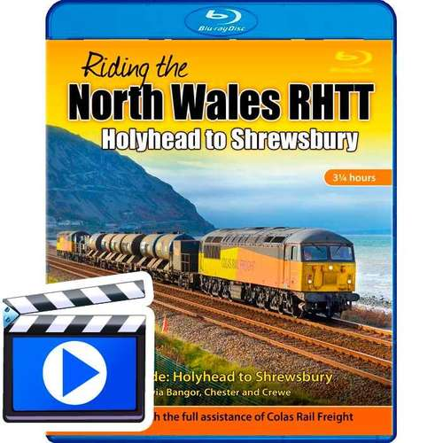 Riding the North Wales RHTT - Holyhead to Shrewsbury (1080p HD)