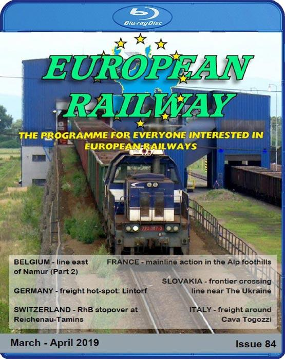 European Railway: Issue 84 Blu-ray