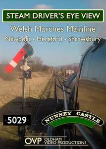 Steam Driver's Eye View - Welsh Marches Line