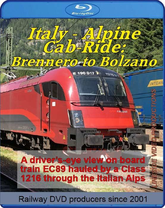 Italy - Alpine Cab-Ride: Brennero to Bolzano. Blu-ray