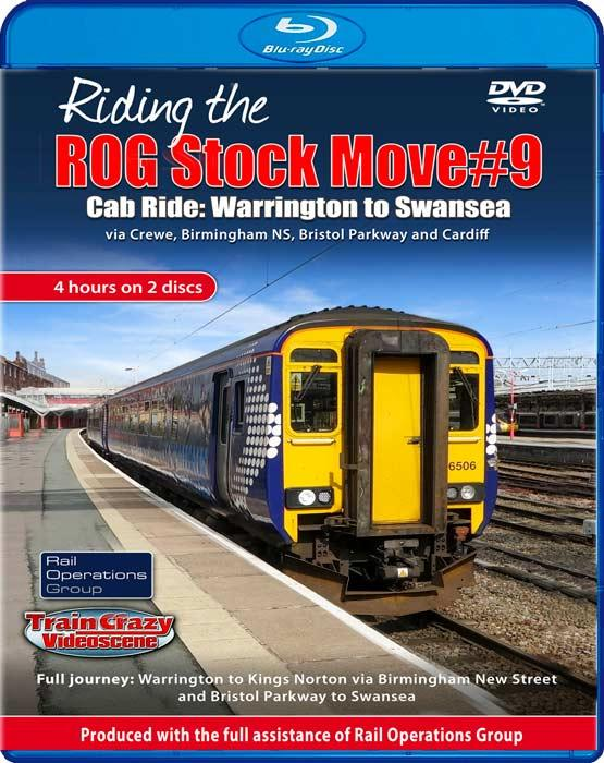Riding the ROG Stock Move #9 - Cab Ride: Warrington to Swansea. Blu-ray